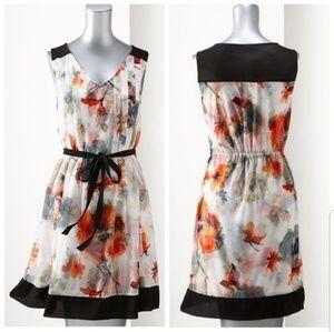 Vera Wang White Floral Dress - XL